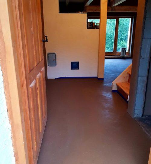 hlinena podlaha